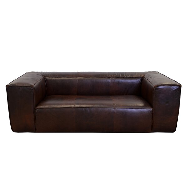 Lawton Leather Sofa by Westland and Birch