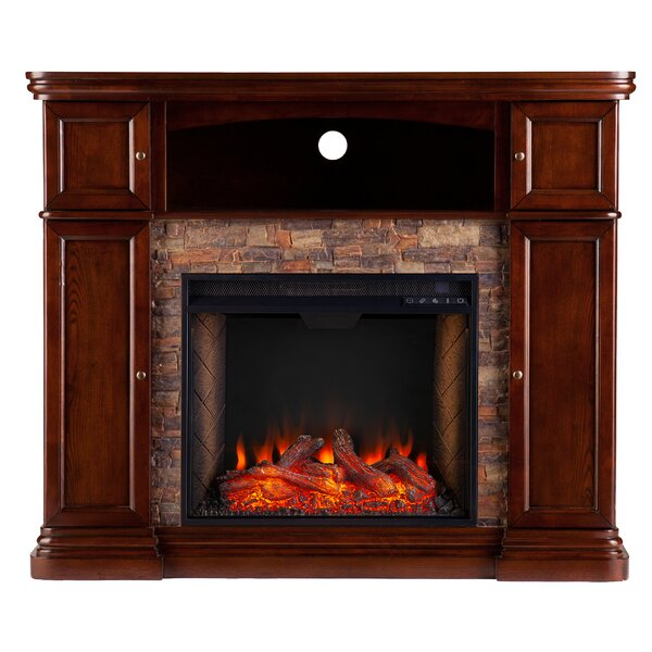 Hillcrest Alexa Enabled Cabinet Fireplace By Latitude Run
