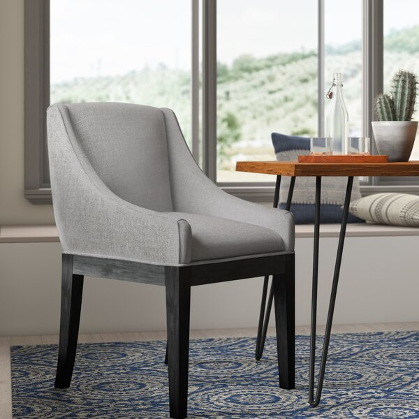 Moss Upholstered Dining Chair by Corrigan Studio