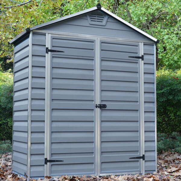 SkyLight™ 6 Ft. W x 3 Ft. D Polycarbonate Storage Shed by Palram