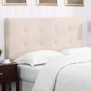 Bates Upholstered Panel Headboard by Andover Mills