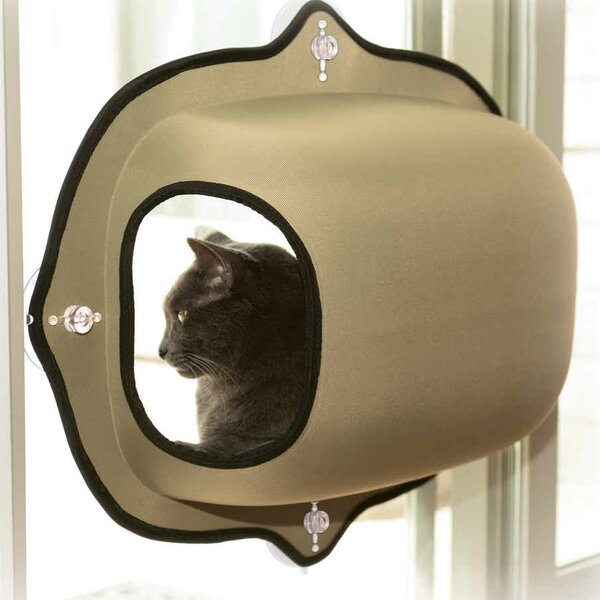 EZ Mount Window Pod Kitty Sill by K&H Manufacturing