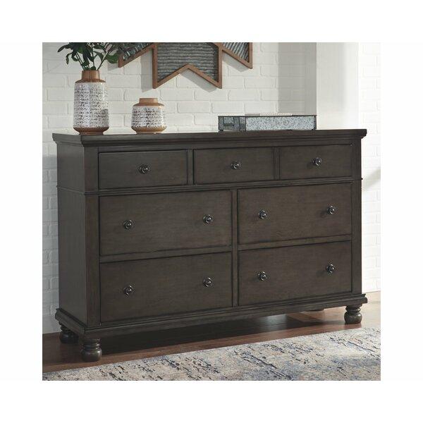 Gabilan 7 Drawer Double Dresser by Alcott Hill