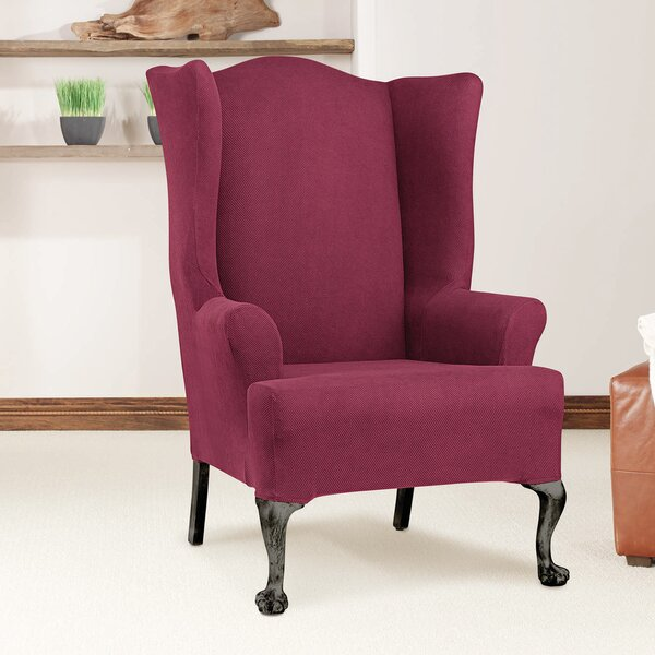 Read Reviews T-Cushion Wingback Slipcover
