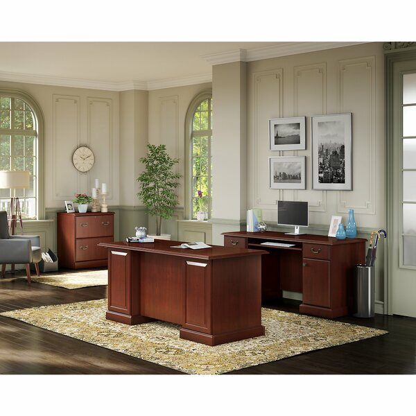 Bennington 3 Piece Office Suite by Kathy Ireland Office by Bush