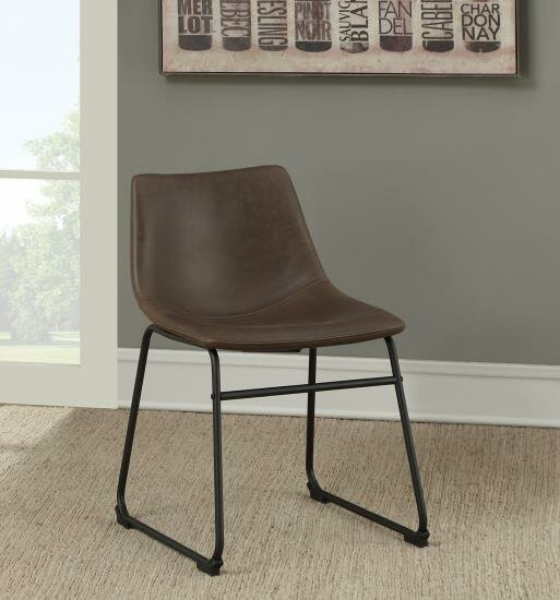 Moretti Coaster Upholstered Dining Chair (Set of 2) by Williston Forge