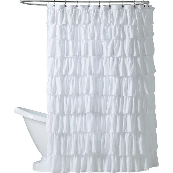 Orona Ruffle Shower Curtain By Lark Manor