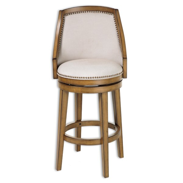 Currahee 30 Swivel Bar Stool (Set of 2) by Darby Home Co