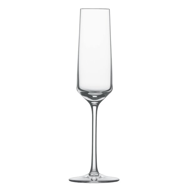 Pure Lead Free Crystal 7 Oz Champagne Flute Set Of 6 By Schott Zwiesel.