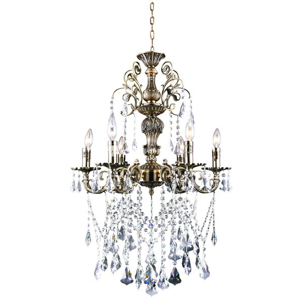 6-Light Chandelier by CWI Lighting