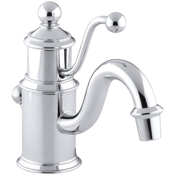 Antique Single hole Bathroom Faucet with Drain Assembly by Kohler