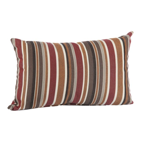 Kinslee Outdoor Sunbrella Lumbar Pillow by Winston Porter