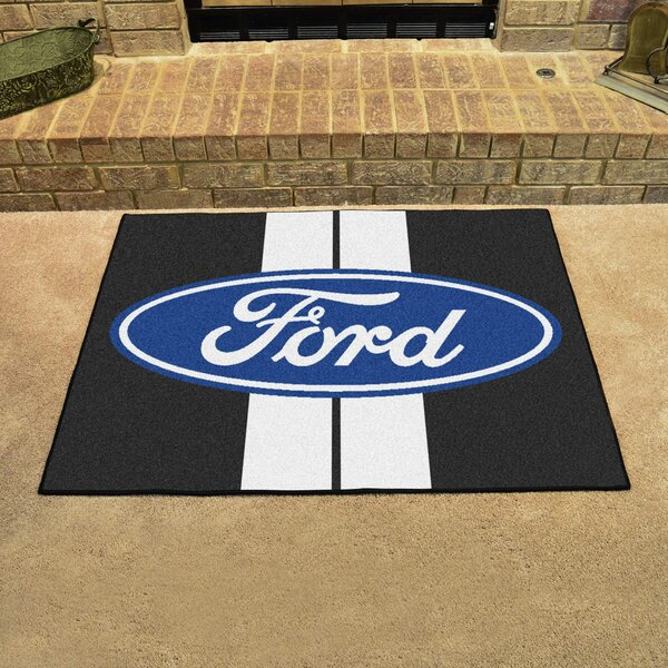 Ford - Ford Oval with Stripes All Star Mat by FANMATS