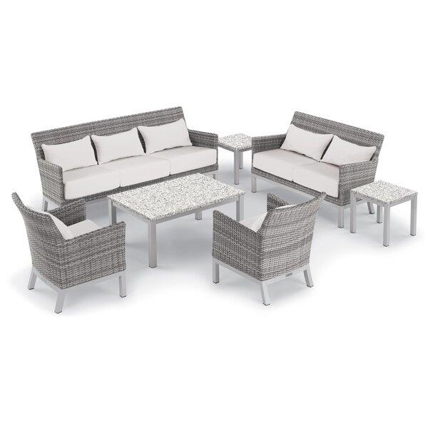 Saint-Pierre 7 Piece Sofa Set with Cushions by Brayden Studio