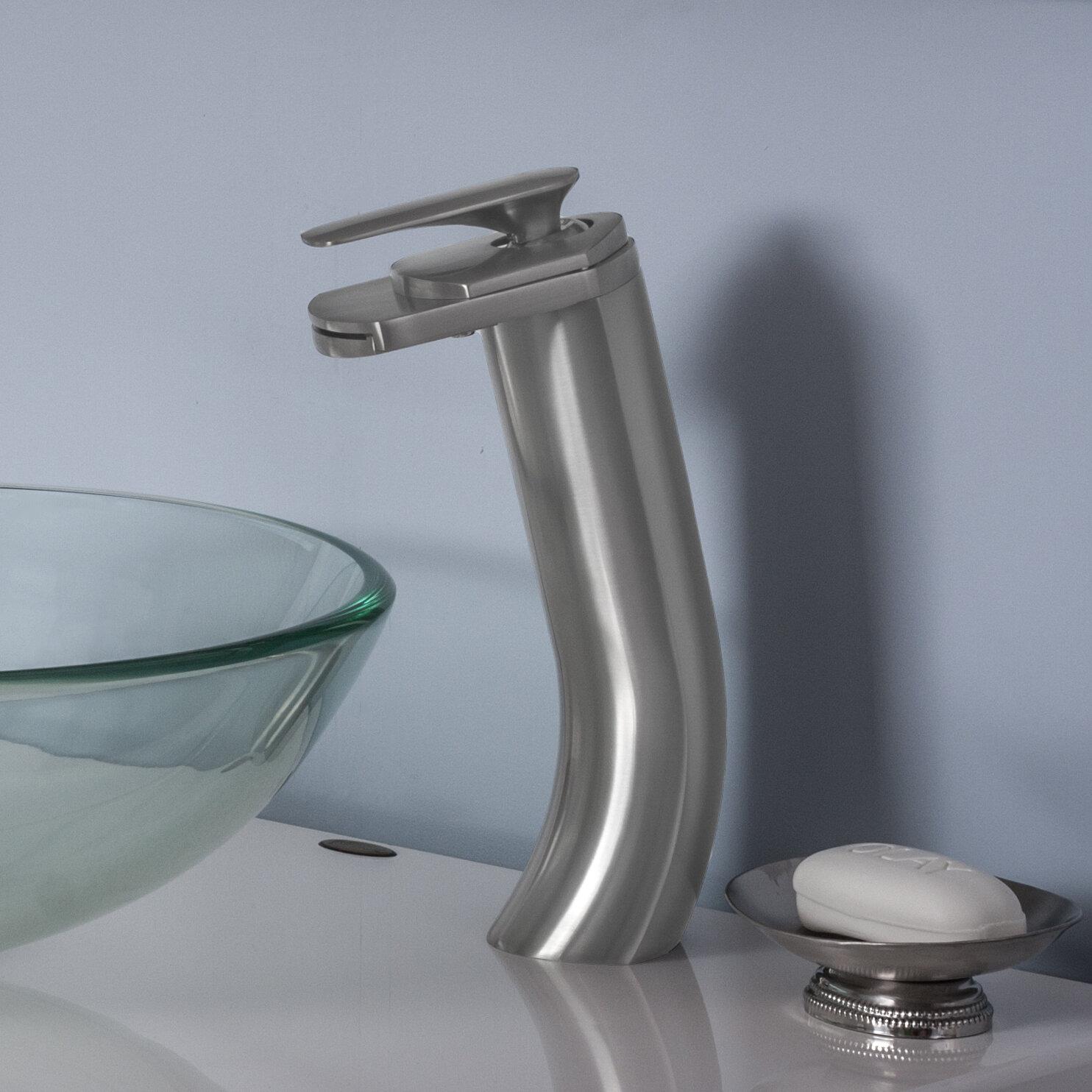 Novatto Cascade Single Hole Bathroom Faucet & Reviews | Wayfair