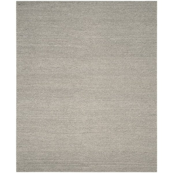 Bathild Hand-Tufted Silver Area Rug by Darby Home Co