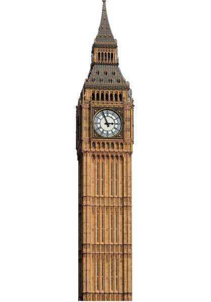 Big Ben Clock Tower Cardboard Stand-Up by Advanced Graphics