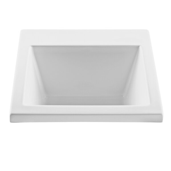 25 x 22 Drop-In/Undermount Laundry Sink by Reliance