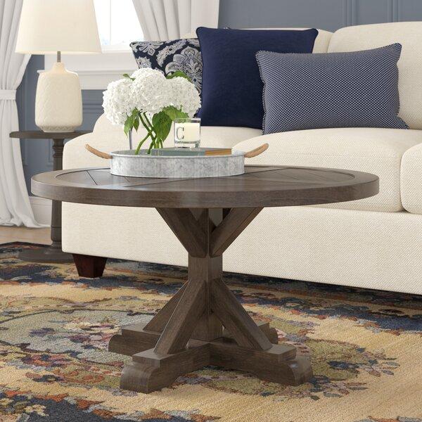 Stowe Pedestal Coffee Table by Birch Lane Heritage Birch Lane™ Heritage