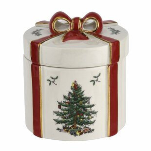 christmas tree lidded gift box present - Outdoor Christmas Decorations Gift Boxes
