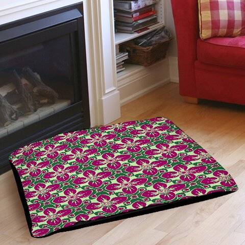 Anna Medallion 4 Pet Bed by Manual Woodworkers & Weavers