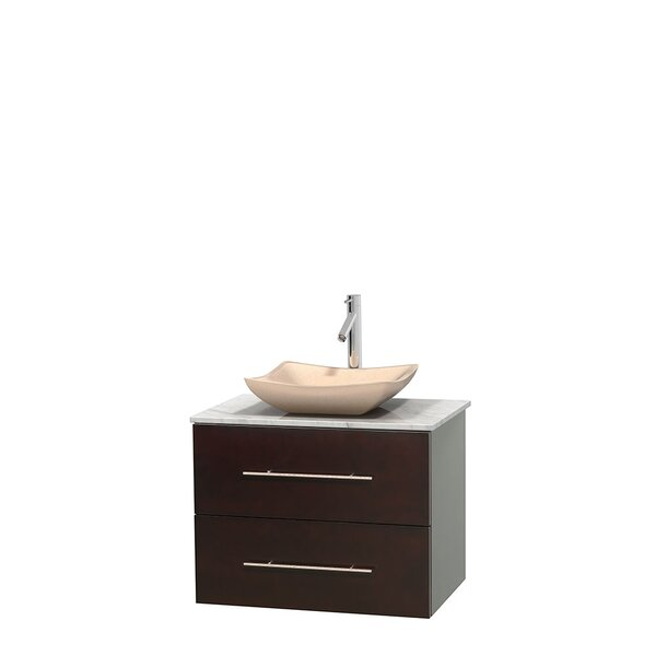 Centra 30 Single Bathroom Vanity Set by Wyndham Collection