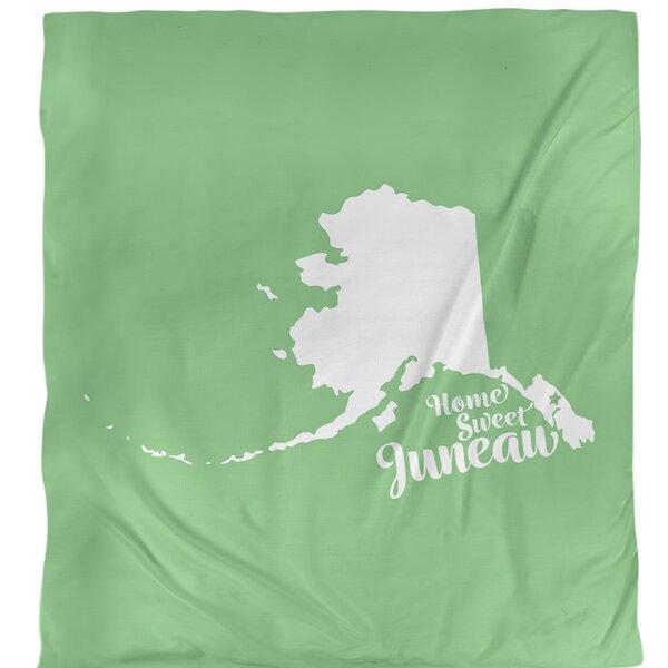 Juneau Alaska Duvet Cover