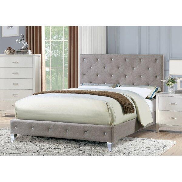 Devine Upholstered Platform Bed By Mercer41 Best Choices