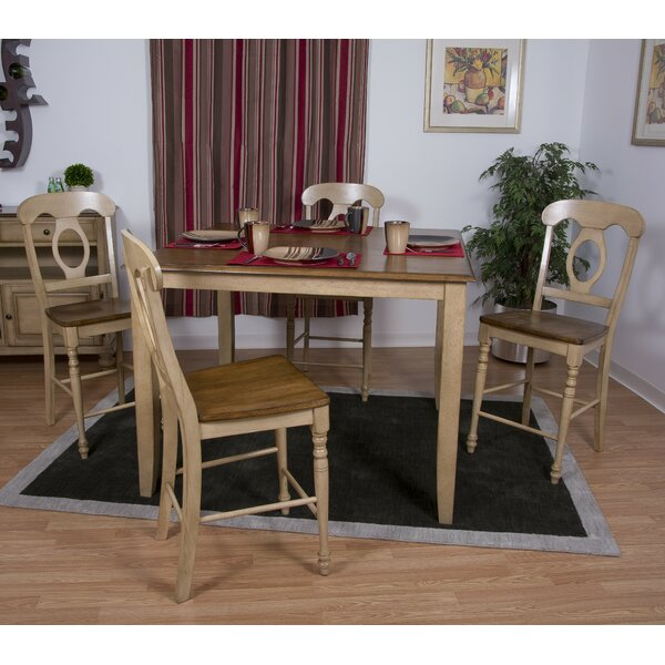 Huerfano Valley 6 Piece Pub Table Set by Loon Peak