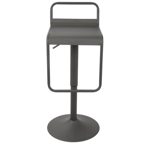 Clark Adjustable Height Swivel Bar Stool by Zipcode Design