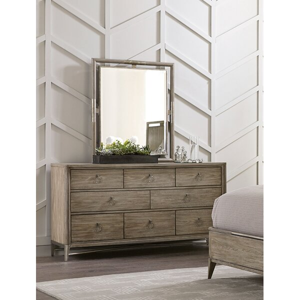 Almazan 8 Drawer Dresser with Mirror by One Allium Way