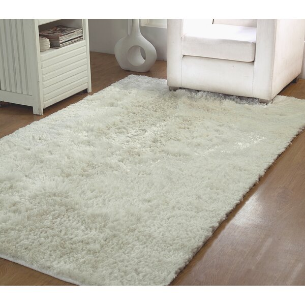 Horst Shag Hand-Woven Ivory Indoor/Outdoor Area Rug by Latitude Run