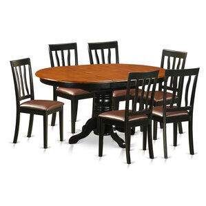 Easton 7 Piece Dining Set by Wooden Importers