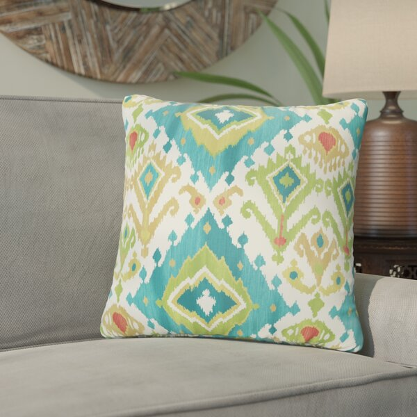 Pineville Indoor/Outdoor Throw Pillow (Set of 2) by Bungalow Rose