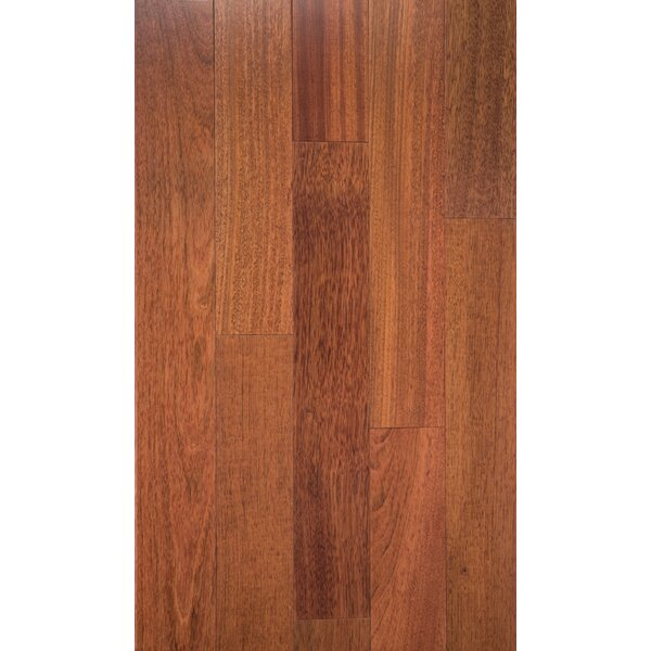 Montana Ridge 3.5 Solid Brazilian Cherry Hardwood Flooring in Smooth Natural by Welles Hardwood