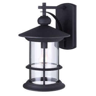 Affordable Wheaton 1-Light Outdoor Wall Lantern By Three Posts
