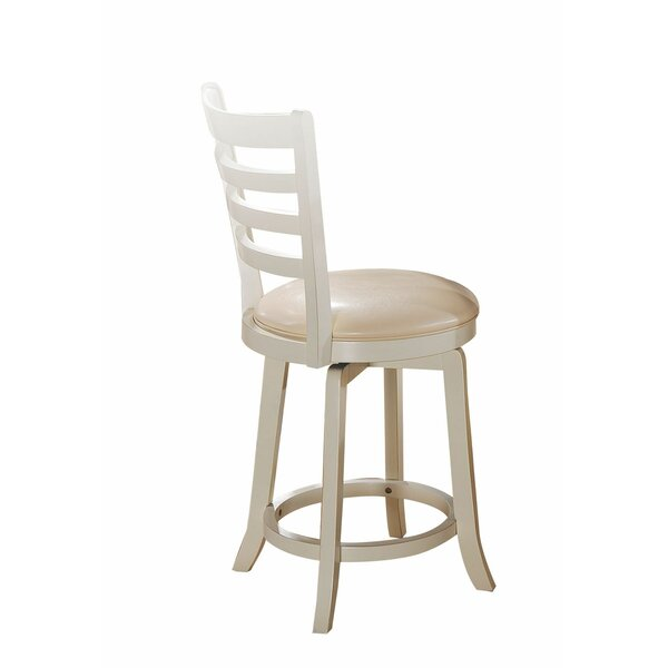 Syrna 24 Swivel Bar Stool (Set of 2) by August Grove