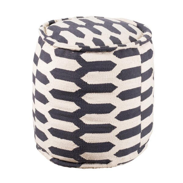 Pero Tufted Pouf by World Menagerie