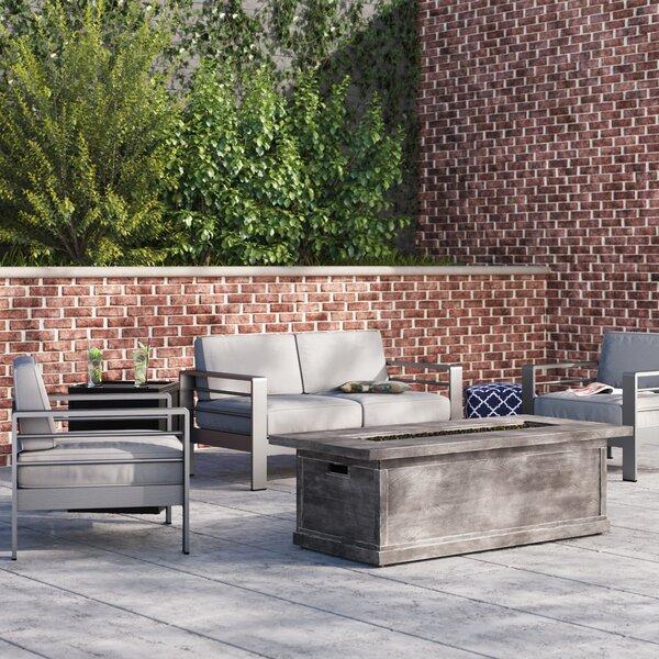Royalston 5 Piece Sofa Set with Cushions