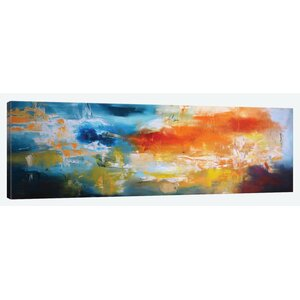 Duality Painting Print on Wrapped Canvas by East Urban Home