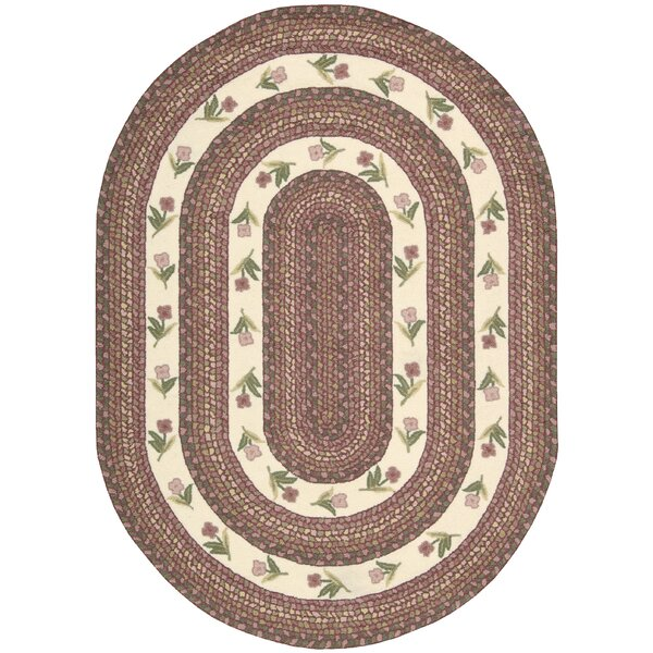 Melania Ivory/Rose Area Rug by August Grove