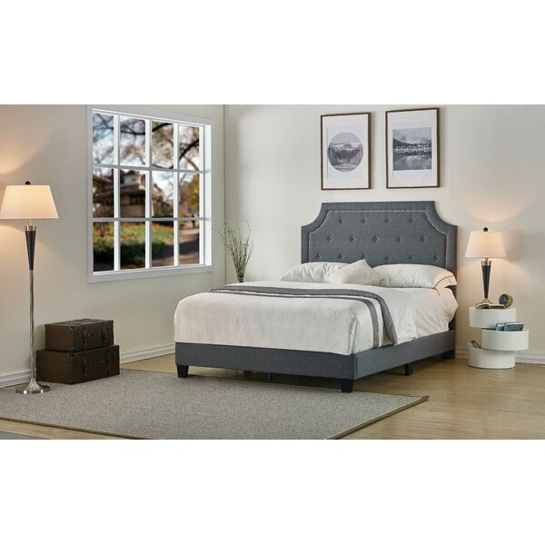 Shanon Upholstered Standard Bed by Charlton Home