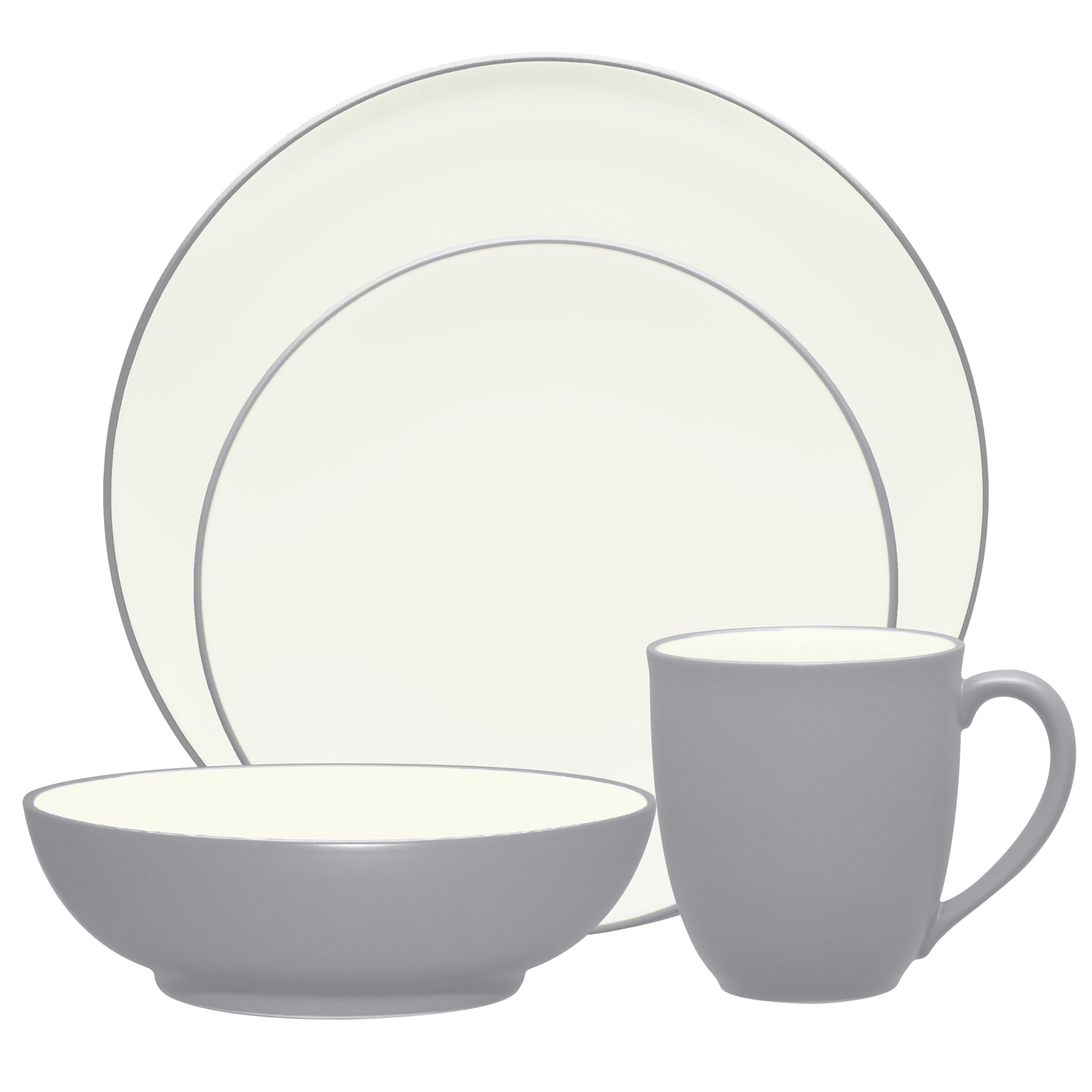 Colorwave Coupe 4 Piece Place Setting Service for 1. by Noritake  sc 1 st  Wayfair & Noritake | Wayfair