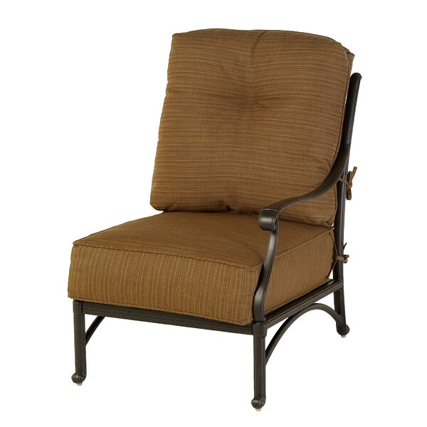 Merlyn Club Left Patio Chair by Fleur De Lis Living