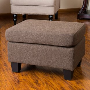 Review Lampkins Ottoman by Andover Mills