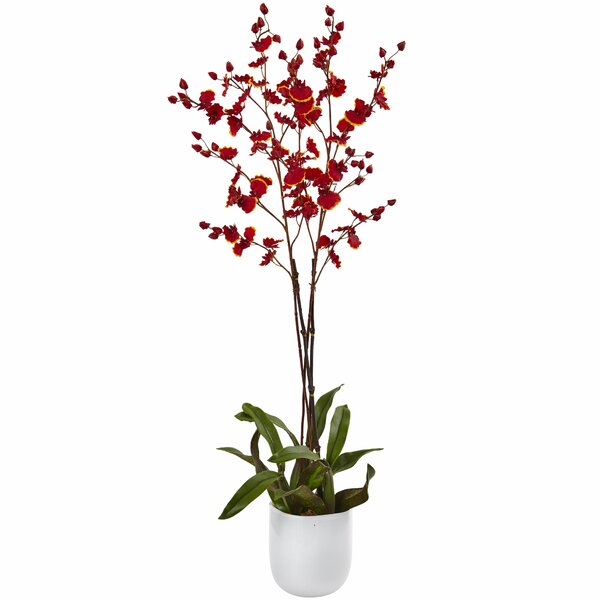 Dancing Orchid Vase by Nearly Natural