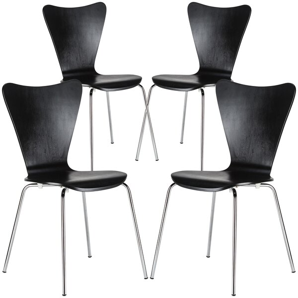 Morrissey Dining Chair (Set of 4) by Orren Ellis
