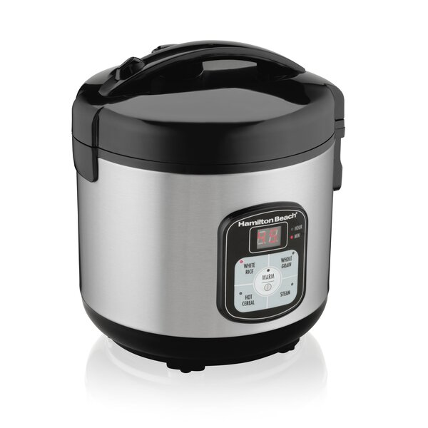 4 Piece 8 Cup Digital Cooker and Steamer by Hamilton Beach