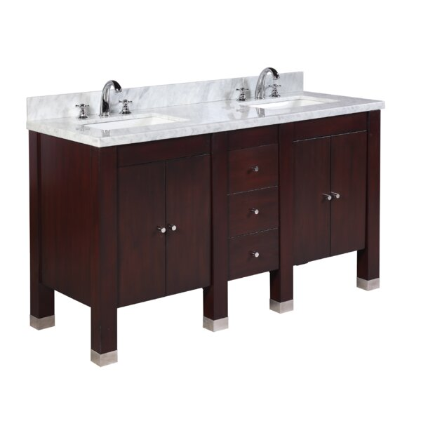 Riley 60 Double Bathroom Vanity Set by Kitchen Bath Collection