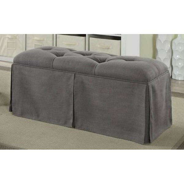 Cripe Upholstered Shelves Storage Bench by Highland Dunes